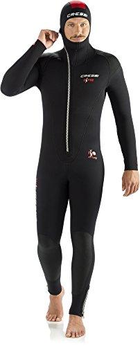 Cressi Herren Diver Man Monopiece Wetsuit Premium Neopren Tauchanzug mit Angesetzter...