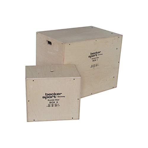 KombiStar BOX I und BOX II als Set 12 Sprunghöhen, 9 Varianten Mini-Parkur und 9...