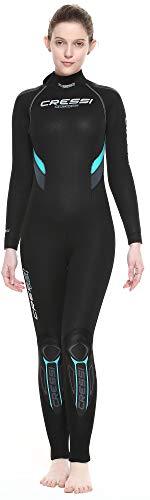 Cressi Castoro Lady Monopiece Wetsuit 5 or 7mm - Taucheranzug erhältlich in 5 oder 7...