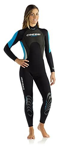 Cressi Morea Damen - Neoprenanzug 3mm für alle Wassersportarten,...
