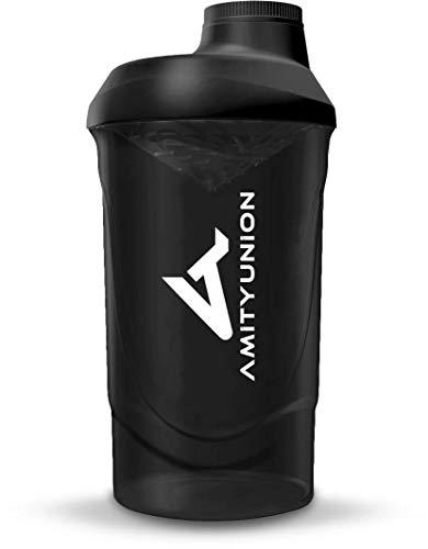 Eiweiß Shaker 800 ml mit Sieb - ORIGINAL Fitness Mixer - Protein Shaker...