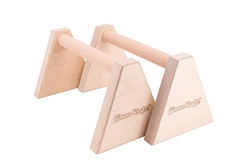 Gimme Kraft! Parallettes Minibarren Handstand Barren Holz Griff Liegestützgriffe...