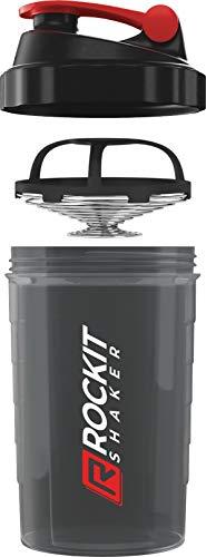 Rockitz Premium Protein Shaker 500ml - erstklassige Mischfunktion mit Infusion Sieb -...