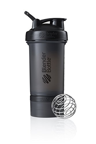 BlenderBottle ProStak Protein Shaker mit BlenderBall mit 2 Container 150ml und 100ml,...