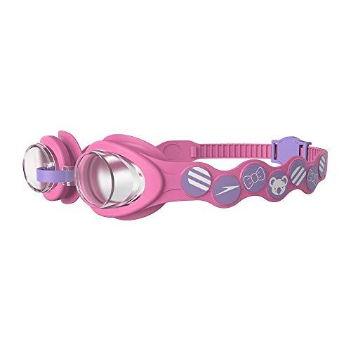 Speedo Kinder Schwimmbrille Sea Squad Goggles, Rosa/Lila, Einheitsgröße