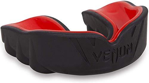 Venum 616 Unisex Senior 11+ Jahre Challenger Mundschutz,Einheitsgröße,Schwarz/Rot