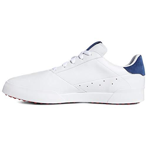 adidas Herren Adicross Retro Golfschuhe weiß 44 2/3