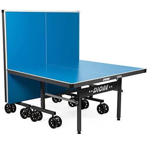 Dione Tischtennisplatte S600o Outdoor - 6mm top - Tischtennistisch Blau TT-Platte...