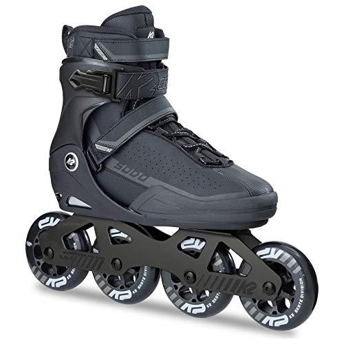 K2 Inline Skates SODO Für Erwachsene Mit K2 Softboot, Black - Grey, 30B0024