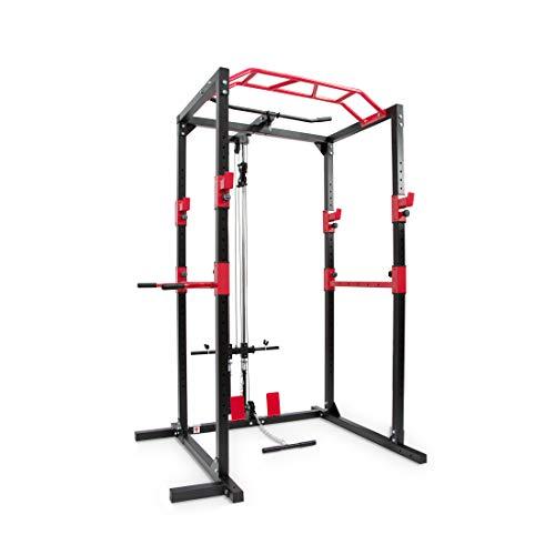 Ultrasport Power Rack / Fitness Rack, multifunktionales Rack für effektives...