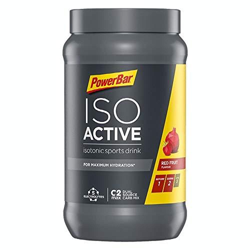 PowerBar Isoactive Red Fruit 1320g - Isotonisches Sportgetränk - 5 Elektrolyte +...