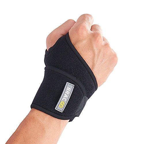BRACOO WS10 Handgelenkbandage - Handgelenkstütze für Sport und Alltag - Wrist Wrap...