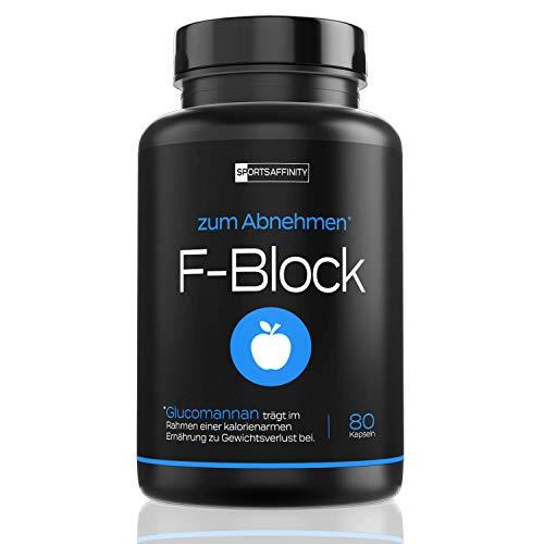 F-Block [Beliebt in der Diät] - Abnehmen Tabletten von Experten - Wirksam für...