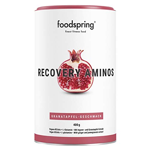foodspring Recovery Aminos, 400g, Granatapfel, Cleane Post-Workout Recovery ohne...