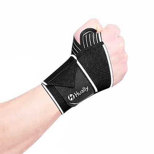 Hually Handgelenkbandagen, Handgelenkstütze atmungsaktive für Damen und Herren,...