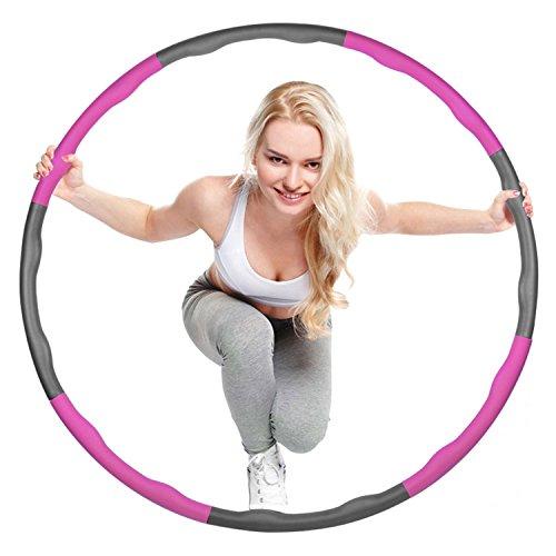 Mture Hula Hoop-Serie zur Gewichtsreduktion,Reifen mit Schaumstoff Einstellbares...