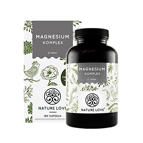 Magnesium Komplex - 400mg elementares Magnesium je Tagesdosis. Magnesiumcitrat,...