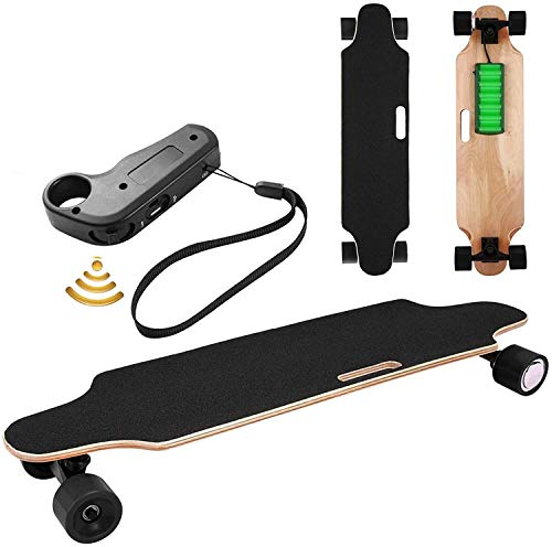 Oppikle Elektrisches Skateboard Longboard E Skateboard Elektrisches Elektrolongboard...