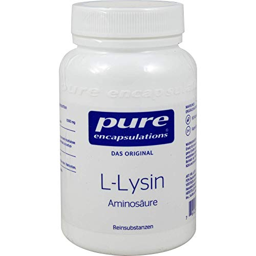 Pure Encapsulations - L-Lysin - Essentielle Aminosäure - 90 Kapseln