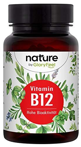 Vitamin B12 Vergleichssieger 2020* - 200 Tabletten (13 Monate) - Vegane Bioaktive...
