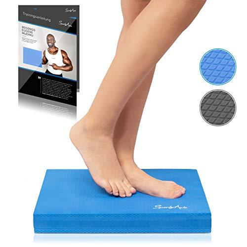 SportyAnis® Balance-Pad inkl. Übungsheft - Innovatives Balance-Kissen zur Stärkung...
