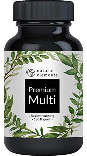 Multivitamin - Umfangreicher Komplex mit Bioaktiv-Formen und Premium-Rohstoffen -...
