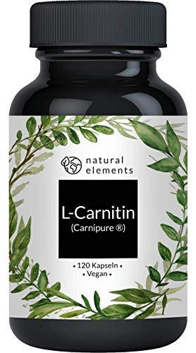 L-Carnitin 3000 - Premium: Carnipure® von Lonza - 120 Kapseln - Laborgeprüft,...