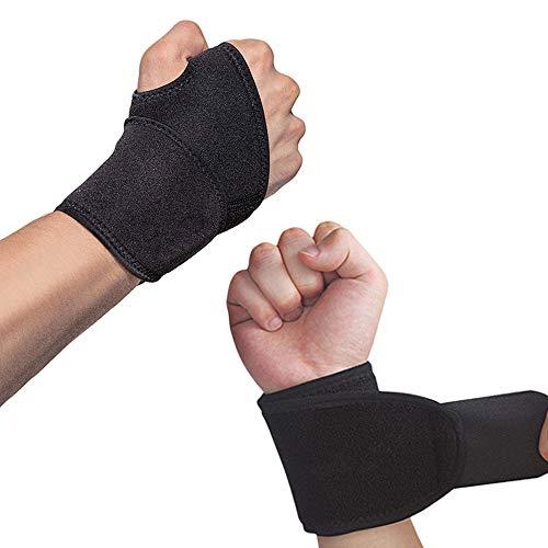 Hually Handgelenk Bandagen, (2er-Set) Verstellbare Handgelenkstütze mit...