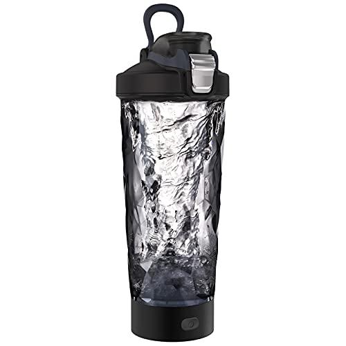 Blackube Elektrischer Shaker Protein Shaker BPA frei Tritan 600ml Portable Electric...