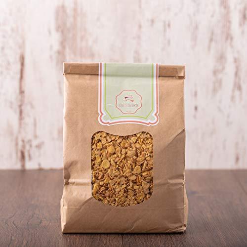 süssundclever.de® Bio Sojaflocken | Protein-Flakes | 1 kg | plastikfrei und...