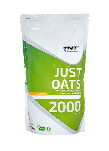 Just Oats – 2kg Premium Hafervollkornmehl – Instant Hafer-Mehl geeignet als...