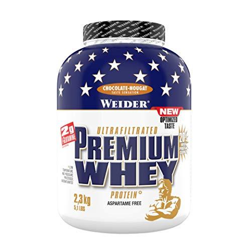 Weider Premium Whey Proteinpulver, Low Carb Proteinshakes mit Whey Protein Isolat,...