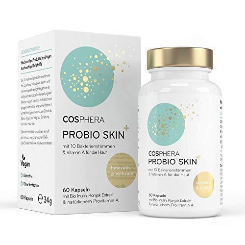 Probio Skin Kapseln Hochdosiertes Probiotikum Vegan I Probiotika & Präbiotika...