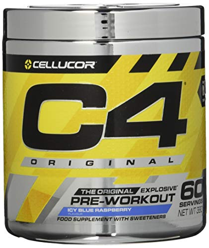 Cellucor C4 Original - Nahrungsergänzungsmittel Pre-Workout - Icy Blue Razz...