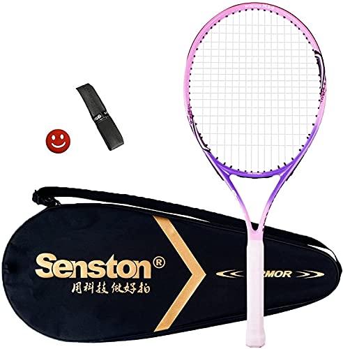 Senston Tennisschläger 19/23/25 One-Piece-Design Tennis Schläger Set mit...