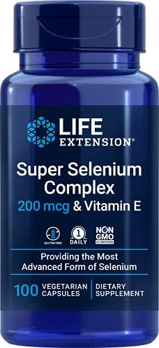 Life Extension, Super Selenium Complex (Selen) mit Vitamin E, 100 Vegetarische...