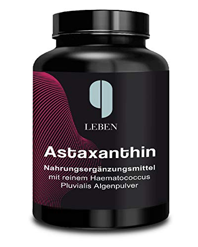 9 Leben Astaxanthin 180 Kapseln hochdosiert vegan | 12 mg am Tag | 3 bis 6 Monate |...