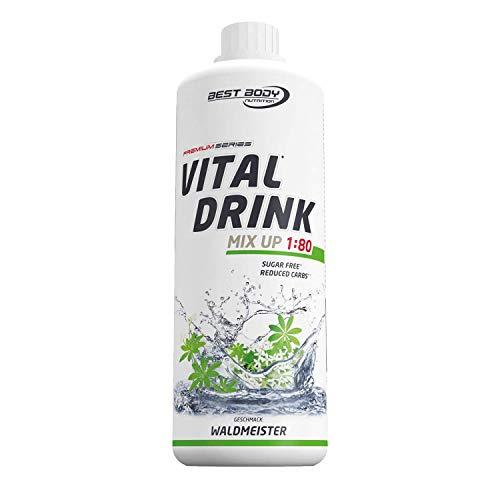 Best Body Nutrition Vital Drink Waldmeister, zuckerfreies Getränkekonzentrat, 1:80...