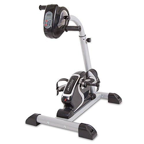 maxVitalis Faltbarer Pedaltrainer Heimtrainer Fitnessgerät Mini-Bike...
