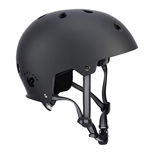 K2 Damen Herren Inline Skates Helm VARSITY PRO - schwarz - M (55-58cm) -...