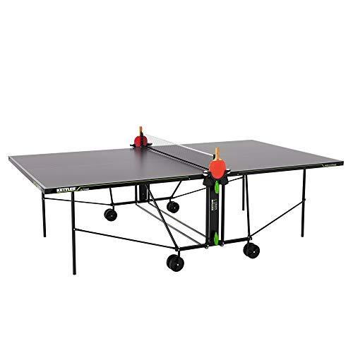 Kettler K1, Outdoor Tischtennisplatte, Turniermaße, robuste 4mm Melaminharzplatte...