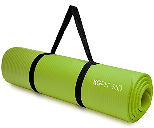 KG Physio Yogamatte Rutschfest - Sportmatte, Gymnastikmatte, Fitnessmatte,...