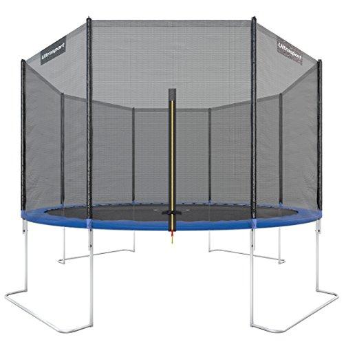 Ultrasport Gartentrampolin, Outdoor Trampolin, Kindertrampolin, 183-430cm,...