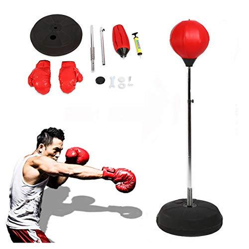 Yosoo Punchingball Erwachsene Boxtraining Set mit Boxhandschuhen und Ständer...