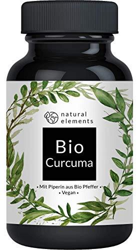 Bio Curcuma - 240 Kapseln - 4542mg (Bio Kurkuma + Bio schwarzer Pfeffer) pro...