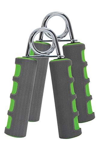 Schildkröt Handmuskeltrainer 2er Set, Anthrazit-Grün, in 4-Farb Karton, 960022