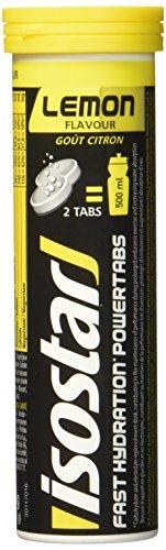 Isostar Powertabs Zitrone, isotonisches Getränk,Sportdrink für intensives Training,...