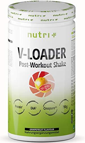 Recovery Drink After Workout Shake - V-Loader Post-Workout Supplement Vegan - 750g...