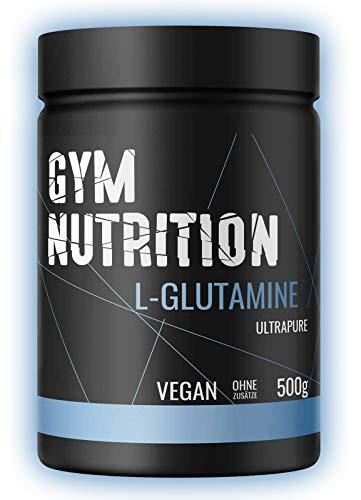 L-GLUTAMIN Ultrapure Pulver extra hochdosiert & 99,5% rein - Laborgeprüft und vegan...