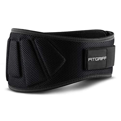 Fitgriff® Gewichthebergürtel V1 - Fitness-Gürtel für Bodybuilding, Krafttraining,...